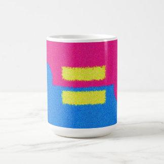 Equal Rights Logo, Impressionist's Style Basic White Mug