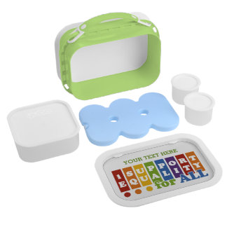Equal Rights lunch boxes
