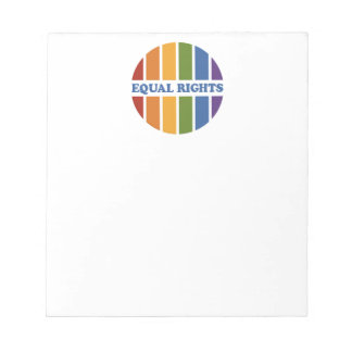 Equal Rights notepad