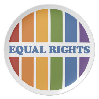 Equal Rights plate
