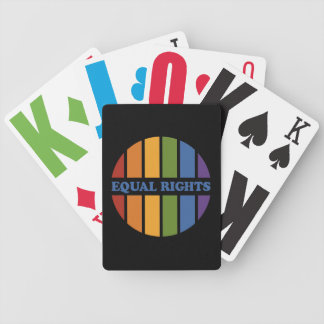 Equal Rights playing cards