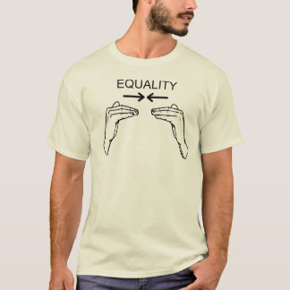 Equal Sign Language Human Equality T-Shirt