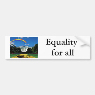 equality 4 all watercolor bumper sticker