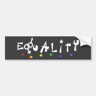Equality Drk Bumper Sticker