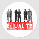Equality Faded.png Round Sticker