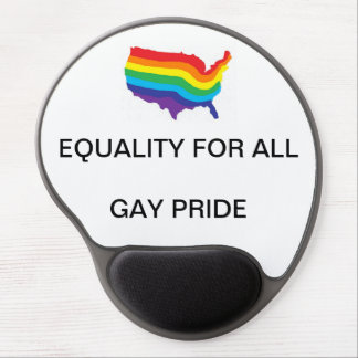 EQUALITY FOR ALL-GAY PRIDE GEL MOUSEPAD GEL MOUSE MAT