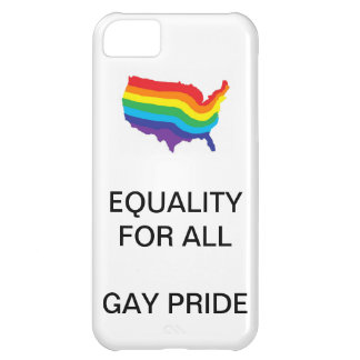 EQUALITY FOR ALL-GAY PRIDE PHONECASE iPhone 5C CASE