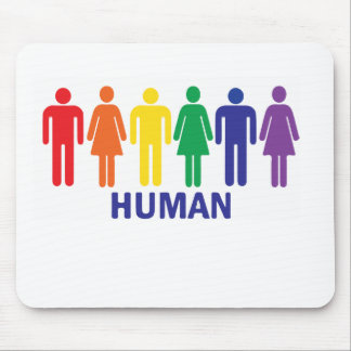 EQUALITY GAY RIGHTS RAINBOW MOUSE MAT