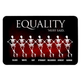 Equality. 'Nuff said. Vinyl Magnets