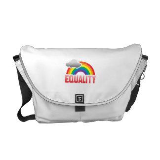 EQUALITY RAINBOW MESSENGER BAGS
