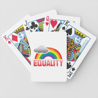 EQUALITY RAINBOW POKER CARDS