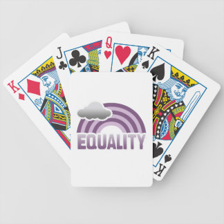 EQUALITY RAINBOW PURPLE DECK OF CARDS
