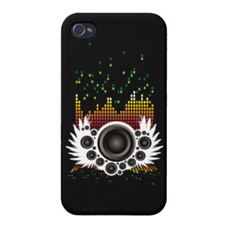 Equalizer Wings Iphone Cover iPhone 4 Covers