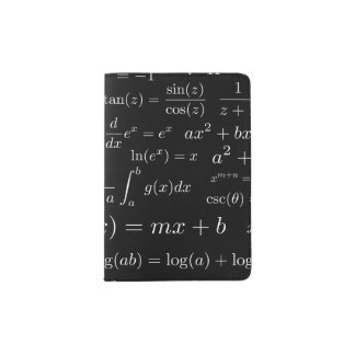 Equations of Math and Science Passport Holder
