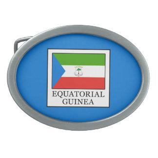 Equatorial Guinea Belt Buckle