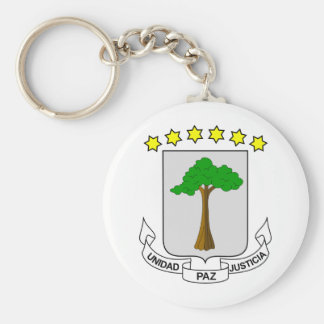Equatorial Guinea Coat of arms GQ Key Ring