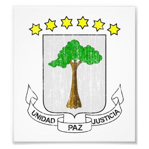 Equatorial Guinea Coat Of Arms Photo