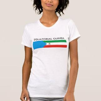 Equatorial Guinea country flag nation symbol long T-Shirt
