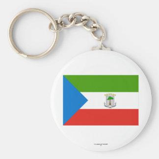 Equatorial Guinea Flag Key Chains