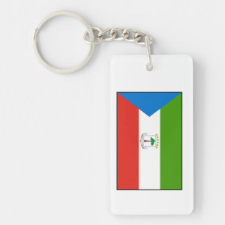 Equatorial Guinea Flag Keychains
