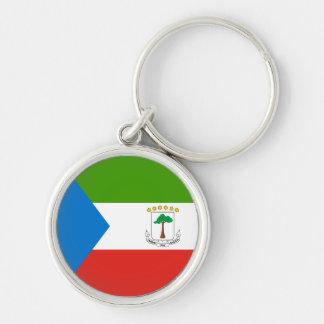 Equatorial Guinea Flag Keychain