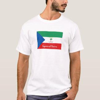 Equatorial Guinea flag souvenir tshirt