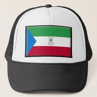 Equatorial Guinea Flag Trucker Hat