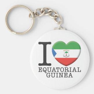 Equatorial Guinea Key Chain