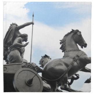 Equestrian architecture in London Napkin