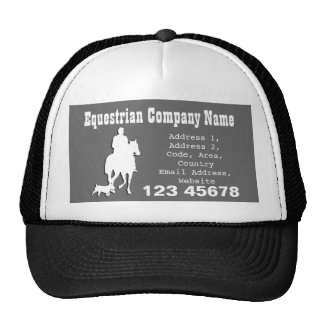 Equestrian Business Theme Collection Trucker Hats