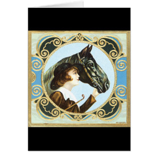 Equestrian Card