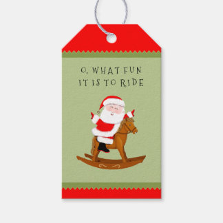 Equestrian Christmas Gift Tags