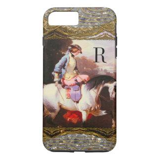 Equestrian Elsa Monogram 7 Plus iPhone 7 Plus Case
