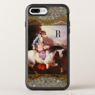 Equestrian Elsa Pretty Monogram OtterBox Symmetry iPhone 7 Plus Case