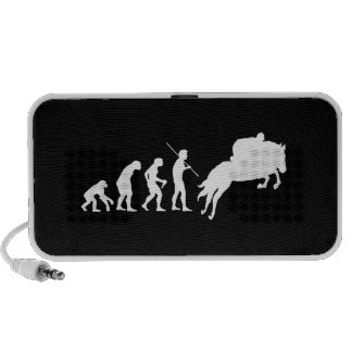 Equestrian Evolution from Man to Horseback PC Speakers