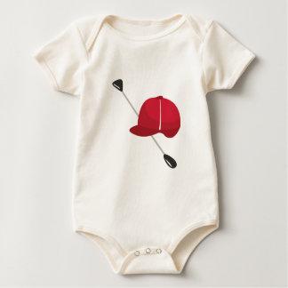 Equestrian Gear Baby Bodysuit