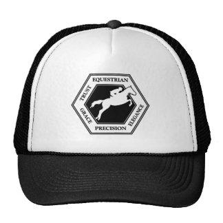 EQUESTRIAN HEXAGON CAP