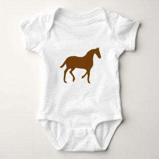 Equestrian Horse Baby Bodysuit