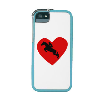 Equestrian Horse Heart Cover For iPhone 5