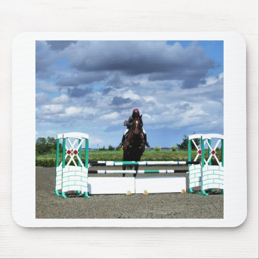 Equestrian Horse Jump Mousepads