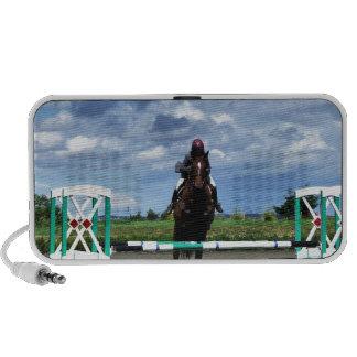Equestrian Horse Jump Laptop Speakers