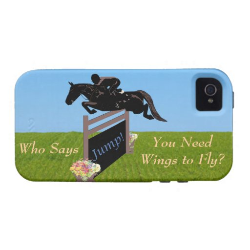 Equestrian Horse Jumper Case For The iPhone 4