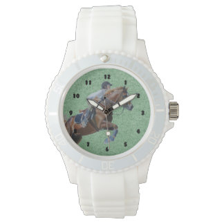 Equestrian Horse Jumper Watch