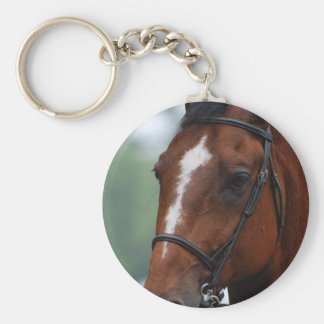 Equestrian Horse Show Keychain