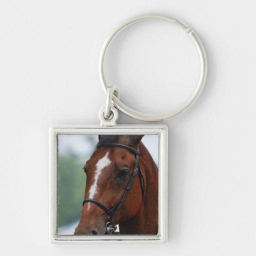 Equestrian Horse Show Keychain