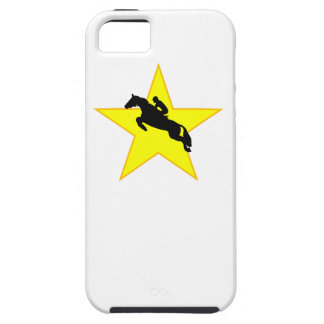 Equestrian Horse Silhouette Star iPhone 5 Cover