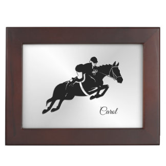 Equestrian Jumper Keepsake Box