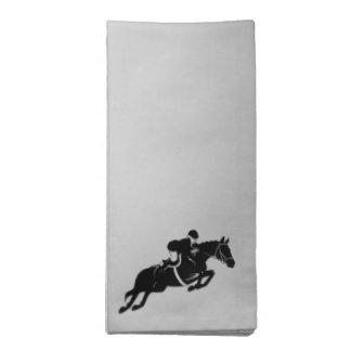 Equestrian Jumper Napkin