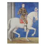 Equestrian Portrait Dauphin Henri II Postcards