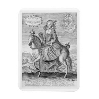 Equestrian Portrait of Anne of Denmark (1574-1619) Magnet